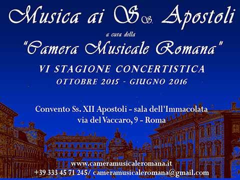 Concertistica Musica ai Santi Apostoli-www.cameramusicaleromana.it